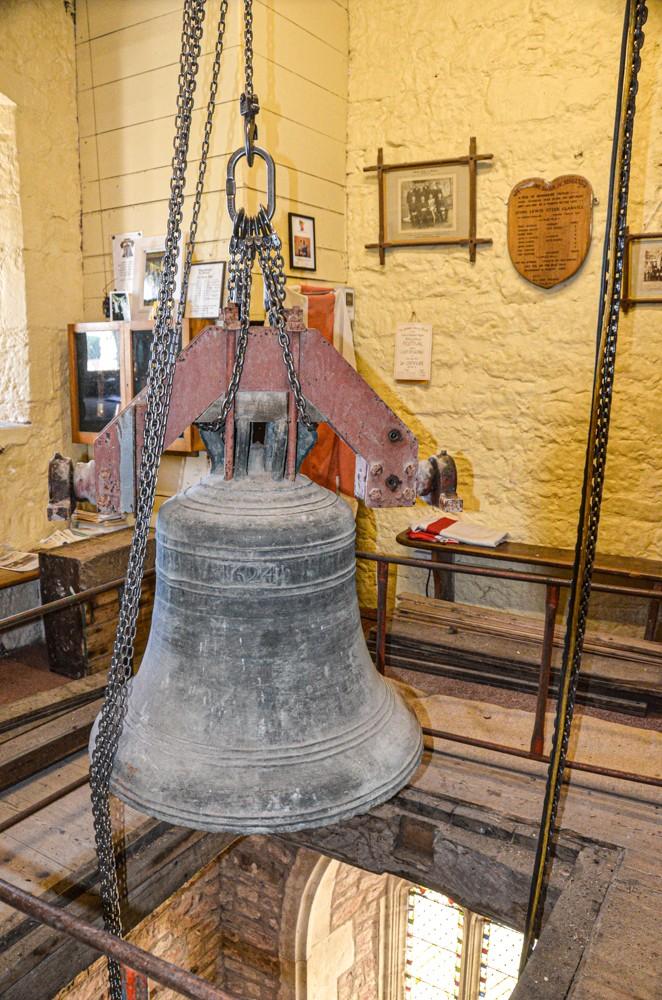 Woodbury - passing through the ringing chamber