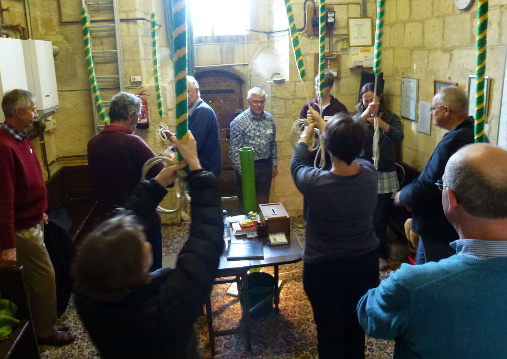 Participants at a course at Longcott in October 2014